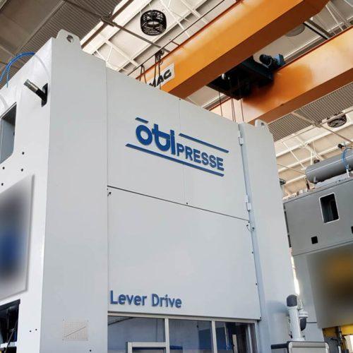 Presse Lever Drive von 2500 kN