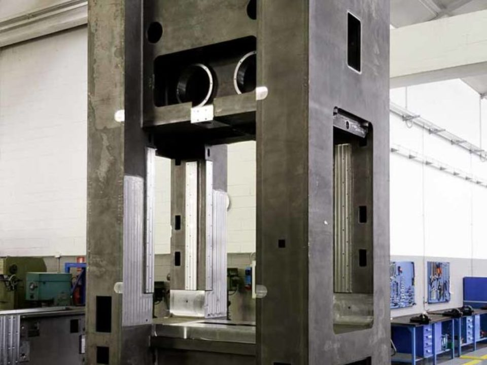 OTI Presse – Pressa Lever Drive 4000 kN
