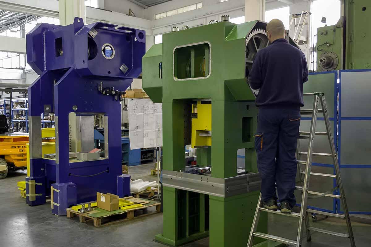 OTI Presse - Sonderpressen im Konstruktionsprozess