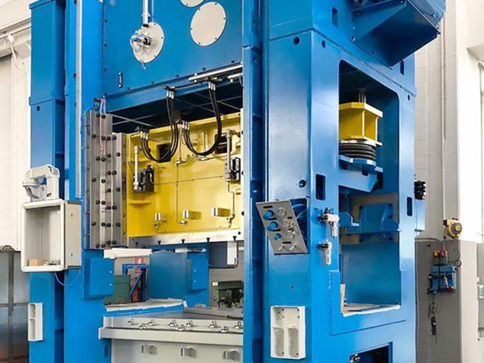 Oti Presse – Pressa Levere Drive 4000 kN